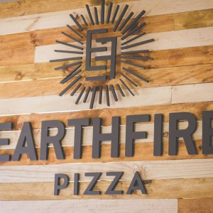 Earthfire PIzza Sign Route 44 Market